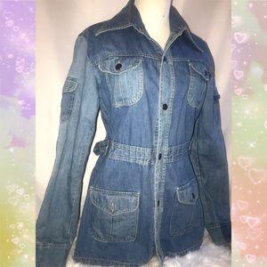 Vintage 1970's Faded Glory denim jacket